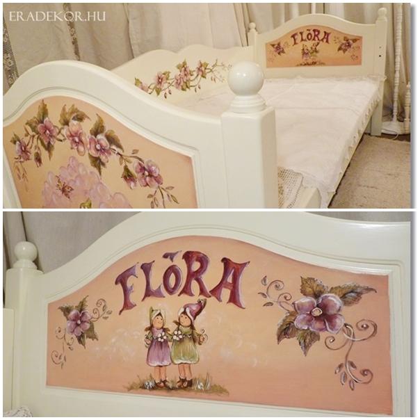 eradekor_gyerekagy_flora6