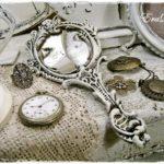 Antikolt réztükör – kincs az Ecseriről