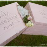Pasztell gyerekszoba – rózsaszín vintage játéktároló