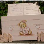Rózsaszín Teddy maci láda – baba ajándék kislánynak
