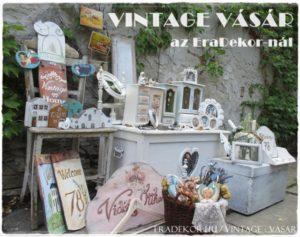 Vintage Vásár az EraDekor-nál