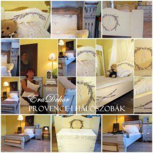 Provence-i hálószoba bútorok