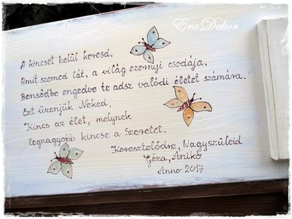 esküvőre jókívánság idézetek jókívánság keresztelőreEraDekor – Festett Bútorok – Keresztelőre
