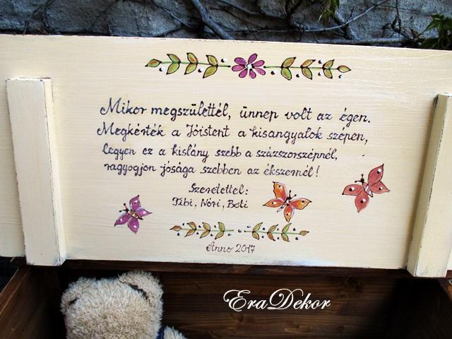 esküvői idézetek ajándékra Mit írjunk a játéktároló ládába? | EraDekor   Festett Bútorok esküvői idézetek ajándékra